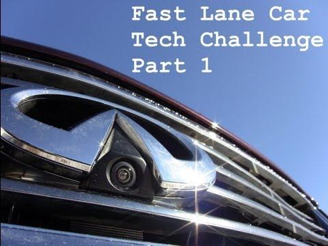 2012 Infiniti EX35 Around View video camera Technology Challenge (part 1)