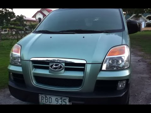 2005 Hyundai Starex Review (Start Up. In Depth Tour. Exhaust. Engine)