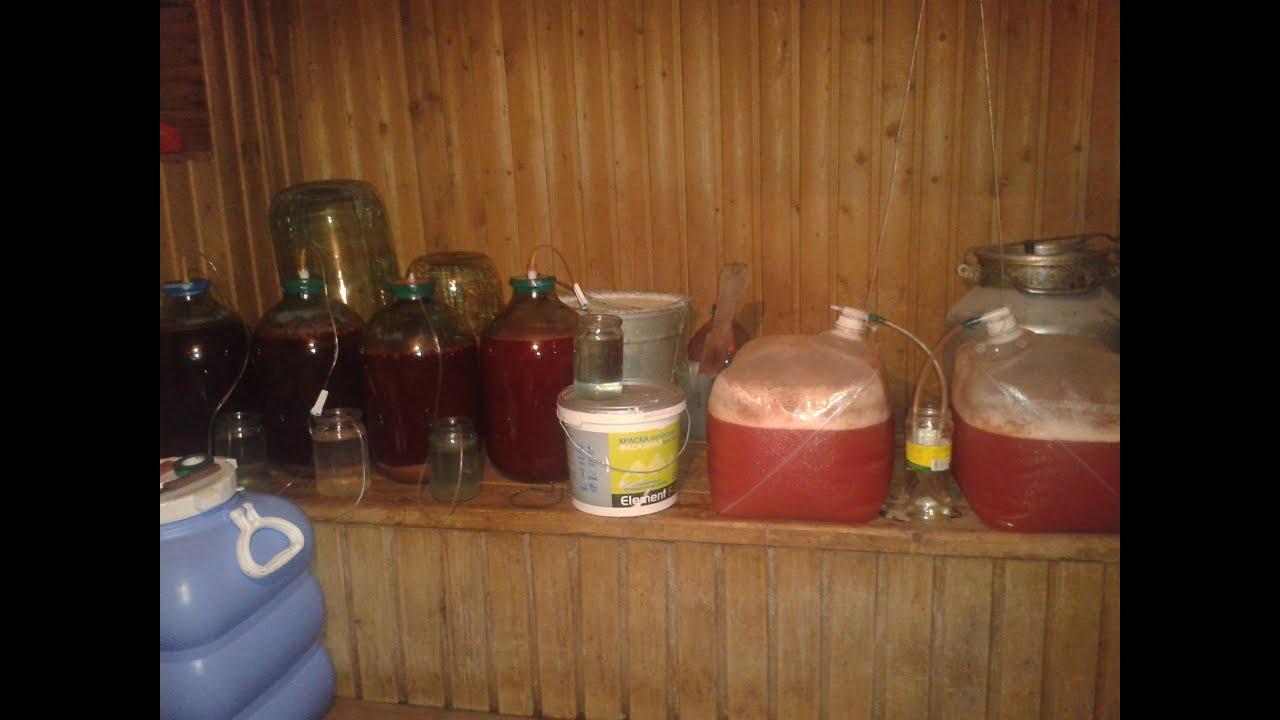 Домашнее вино из старого варенья 55
