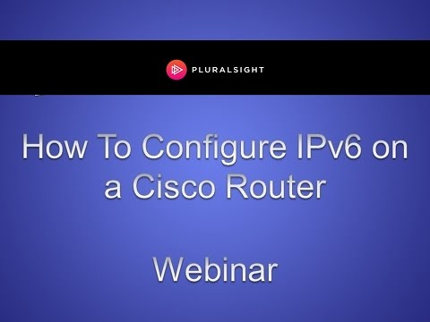 How to Configure IPv6 on a Cisco Router