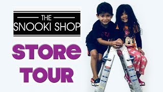 THE SNOOKI SHOP   STORE TOUR