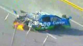 Terrifying accident during the NASCAR race in Talladega