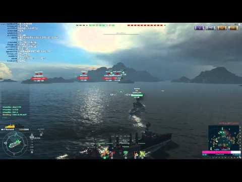 QK實況日常:World of Warships《戰艦世界》蘇聯祖國船Murmansk 對戰精彩場二