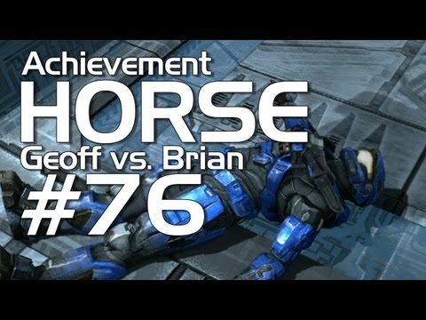 Halo: Reach - Achievement HORSE #76 (Geoff vs. Brian)