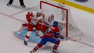 David Desharnais Overtime Goal vs Detroit 2-1 (10/21/14)