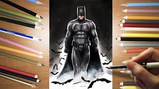 Speed Drawing: Ben Affleck's Batman   Jasmina Susak