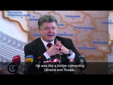 Poroshenko: Nemtsov planned to reveal Russian links to Ukraine conflict