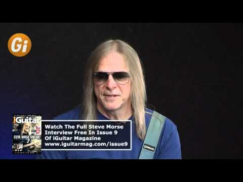 Steve Morse Interview - Joining Deep Purple - iGuitar Magazine Issue 9