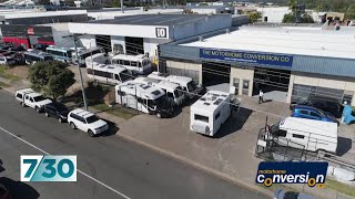 Motorhome Conversion Company goes bust leaving scores of retirees out of pocket | 7.30