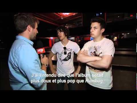 Arctic Monkeys - Interview Suck It And See (Musique Plus Quebec)