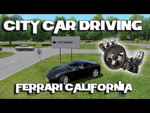 City Car Driving v1.3.3 - Ferrari California - Logitech G27