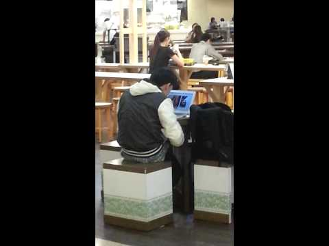 Masterbate At Food Court video