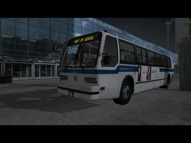 City Bus Simulator 2010 - New York Gameplay #1 HD