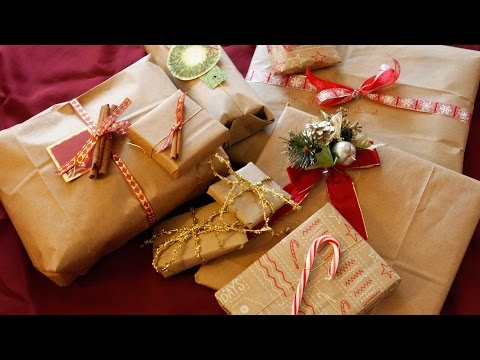 Упаковка подарка своими руками ютуб