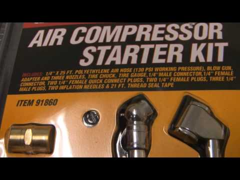 Central Pneumatic Oilless Air Compressor 3 gallon 95275