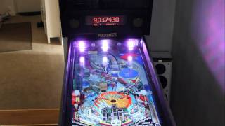 The Addams Family 5 LED RGB Flasher on my Visual Pinball cab
