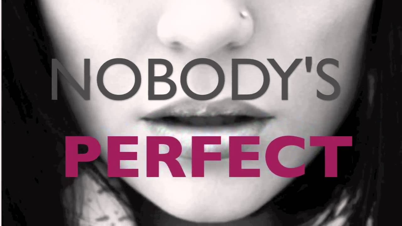 Nobody S Perfect Jessie J Lyrics Youtube