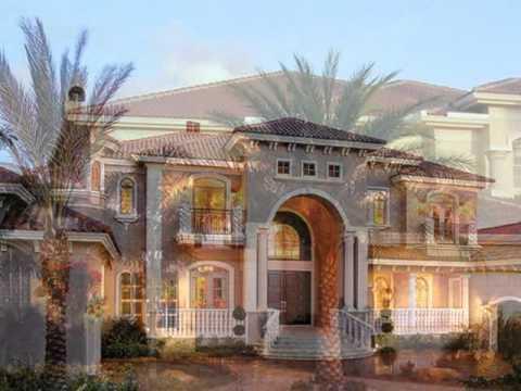 Fachadas de mansiones