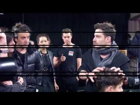 TONI&GUY   Hairstyle  Antonio Marras   Milan Fashion Week   man's collection F:W 2015:2016