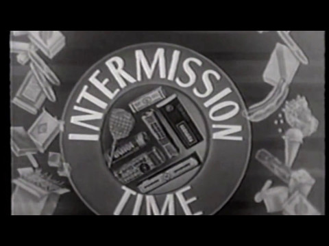 Drive-In Movie Theater Intermissions - Intermission Time! (1950s)