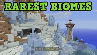 Minecraft Top 5 RAREST Biomes in 1.9 / TU31