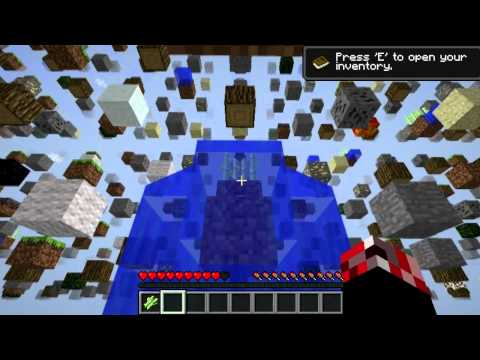 Minecraft RAGE QUIT!    SkyGrid Survival Map