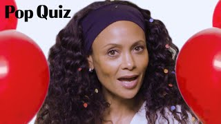 Thandie Newton Plays Pop Quiz | Marie Claire