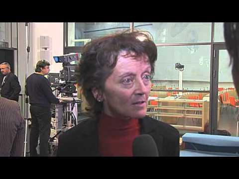 BR Eveline Widmer-Schlumpf und BDP Präsident Hans Grunder zur Minarettverbotsinitiative