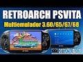 RETROARCH PSVita 3 60 3 65 3 67 Y 3 68 MULTIEMULADOR Todas Als Versiones mp3
