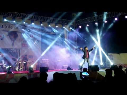 Jashn Bahaara hain....Rocking Javed Ali Concert at NIT-Surat...