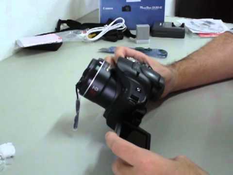 #ResterTECH S02E02 - Canon PowerShot SX30 IS (Unboxing) em Português