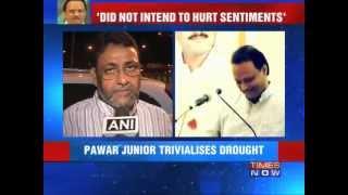 Big political fight over Pawar
