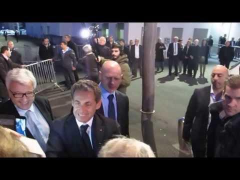 Nicolas Sarkozy au concert de Carla Bruni à Béziers