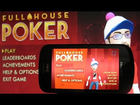 Full House Poker for Windows Phone 7 Review