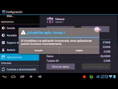 Reparar error se a detenido la aplicacion camara android