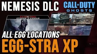Call of Duty: Ghosts EggStra XP Nemesis DLC Egg Hunt Locations | COD Ghosts Egg-Stra XP Exodus