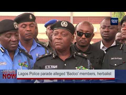 Lagos Police parade alleged 'Badoo' members, herbalist