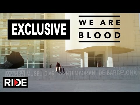 We Are Blood Exclusive Clip - Paul Rodrigue & Tiago Lemos explore Barcelona Spain