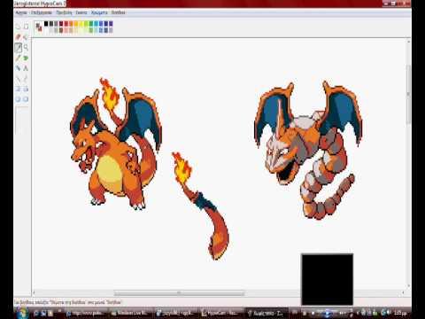 pokemon pictures to colour. pokemon sprites tutorial