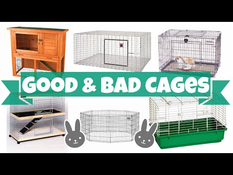 Good vs Bad Rabbit Cages