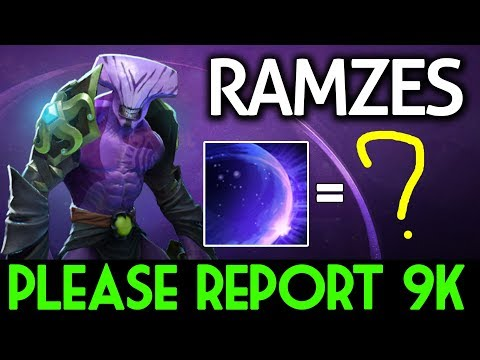 RAMZES Dota 2 [Faceless Void] Please report 9k