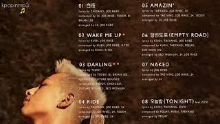 """BIGBANG's TAEYANG - """"WHITE NIGHT"""" TRACKLIST"""