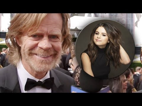 William H Macy: Selena Gomez is