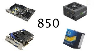 850 Dollar Gaming Computer Build April 2013
