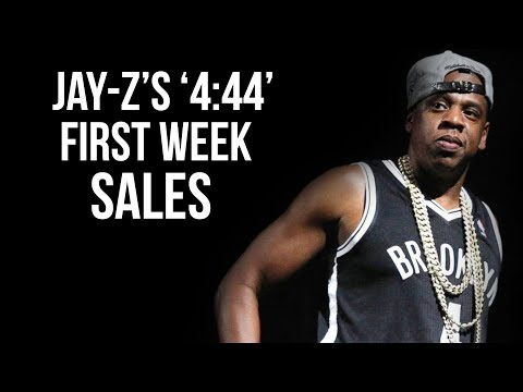 Jay-Z's First Week Sales For '4:44' Album Isn't Looking Good