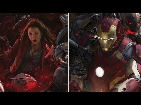 AMC Movie Talk - AVENGERS 2 Comic Con Posters, 50 SHADES OF GREY Trailer