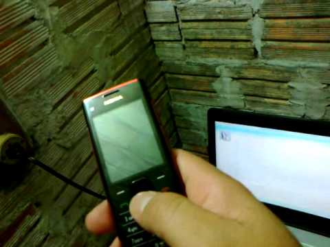meu celular  NOKIA X2-00