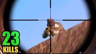 BEST CROSSBOW KILL?   23 KILLS SOLO VS SQUAD   PUBG MOBILE