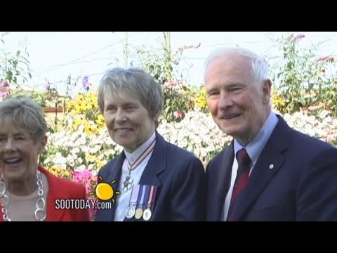 Canada's Governor General Visits Sault Ste. Marie, 2012