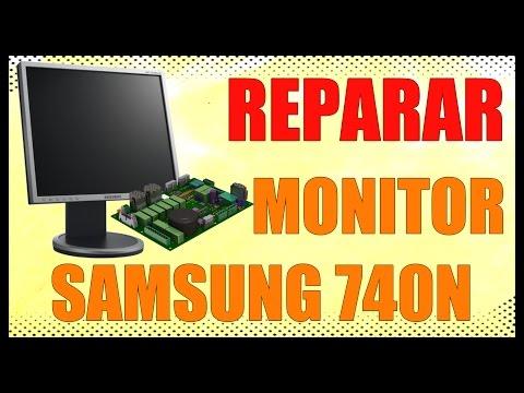 Reparación de MONITOR SAMSUNG 740N - www.logeek.net